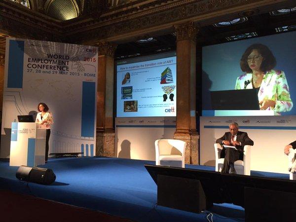 Ciett World Employment Conference. Roma, 27-29 maggio 2015