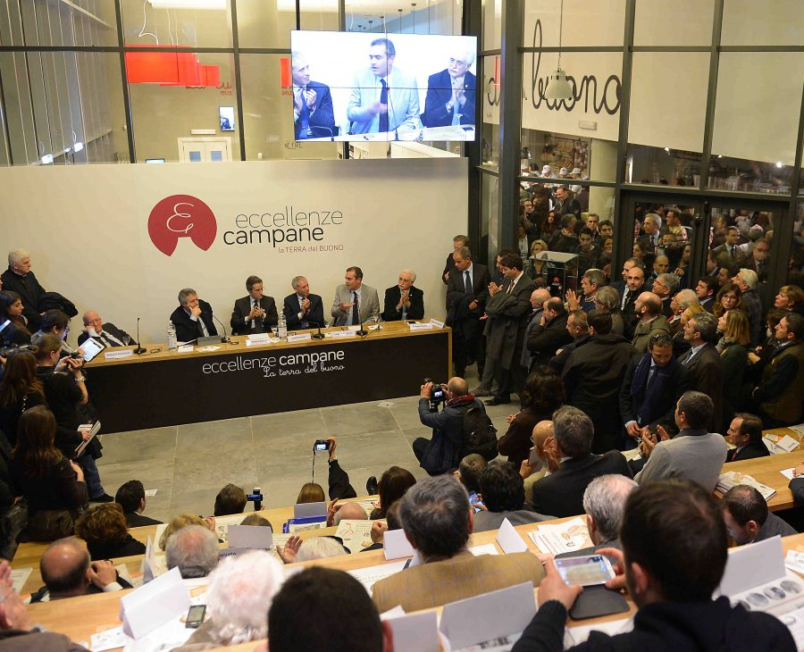 Inaugurazione Eccellenze Campane. Napoli, 16 gennaio 2014