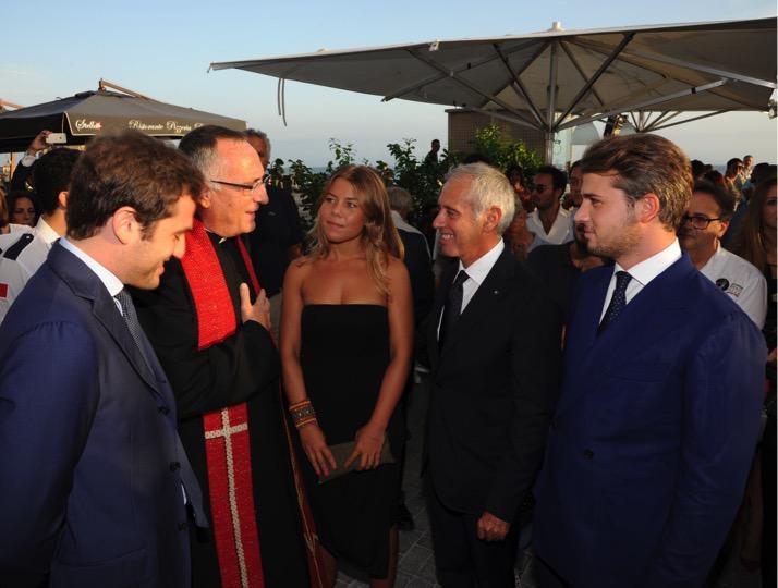 Inaugurazione Eccellenze Campane Mare. Napoli, 21 settembre 2015