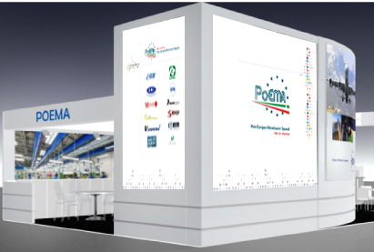 Stand Poema per Paris Air Show Le Bourget 2015