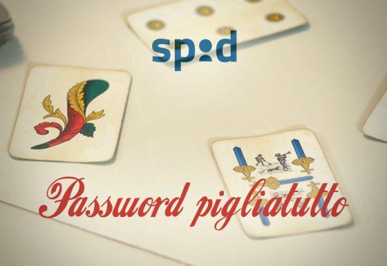 Spid, password pigliatutto