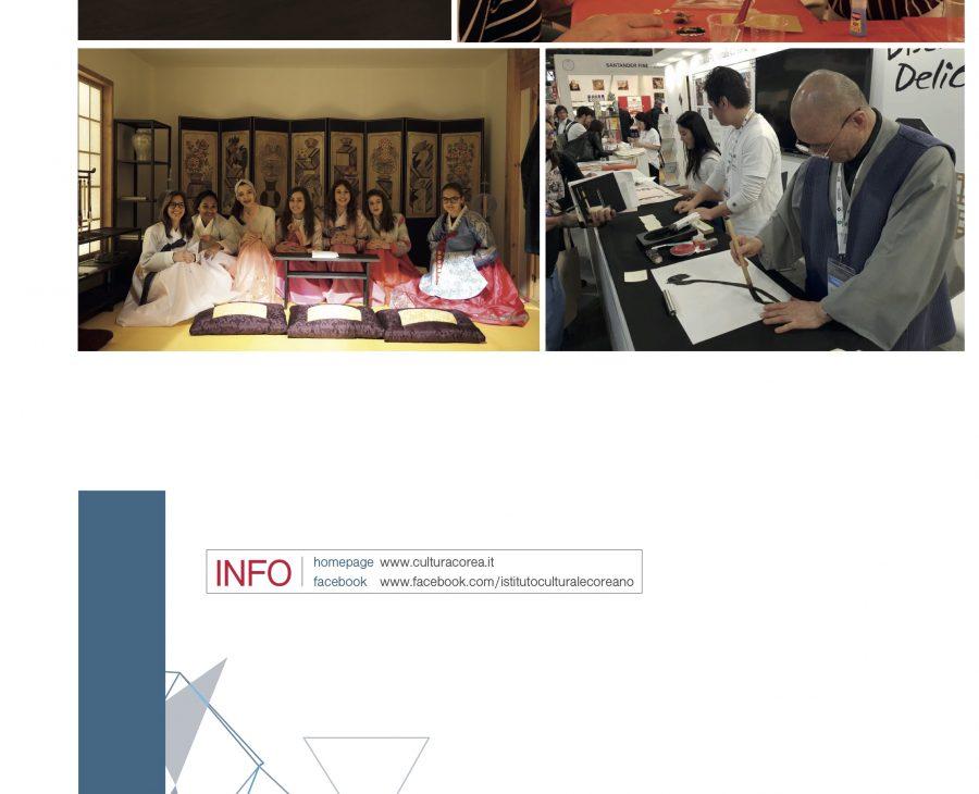 Settimana della Cultura Coreana. Napoli, 5 – 8 giugno 2017